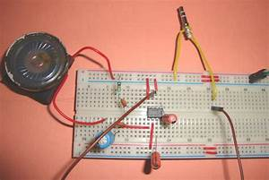 Scematic Diagram  Mobile External Speakers Circuit
