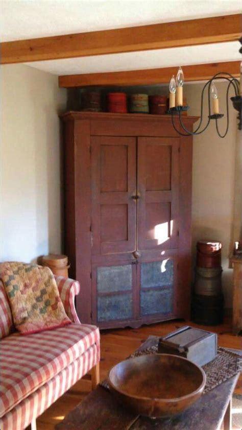 primitive living room primitives and corner cabinets on