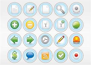 Computer Vector Icon Pack Vector | Free Download