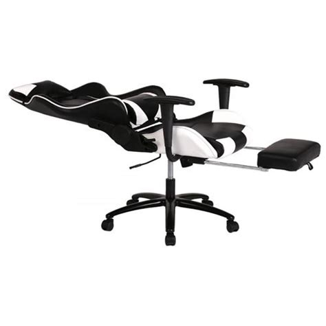 white gaming chair high back computer chair ergonomic