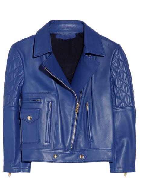 light blue leather jacket womens blue leather jackets jackets