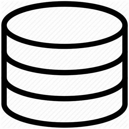 Storage Data Icon Server Database Network Transparent