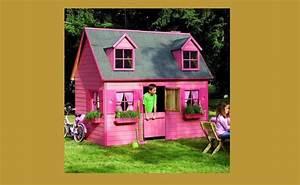Maison Jardin Pour Enfant : une cabane pour enfants dans le jardin galerie photos d ~ Premium-room.com Idées de Décoration
