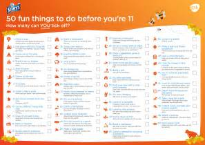 50 things to do before you 39 re 11