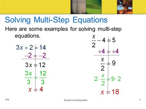 Solving Multistep Equations  Ppt Download