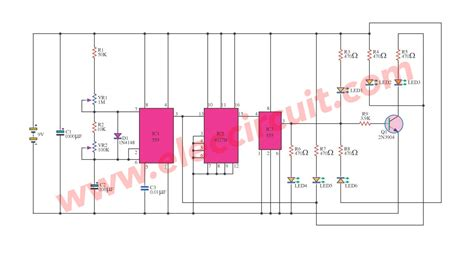 Simulate The Traffic Light Circuit Eleccircuit