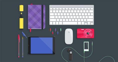 desktop flat vector objects vol vector objects pixeden