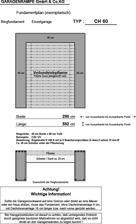 Bodenplatte Selbst Betonieren Auf Den Fundamentplan Kommt Es An by Fundamentplan
