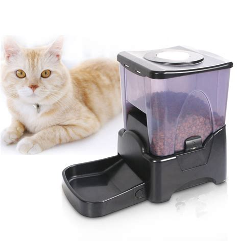 automatic cat feeder automatic pet feeder cat programmable animal food bowl