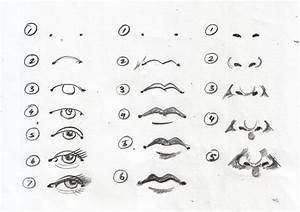 How To Draw Eyes And Nose Step By Step - Great Drawing