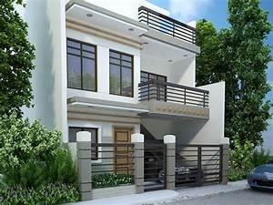 Modern, Minimalist, 2, Floor, House, Designs