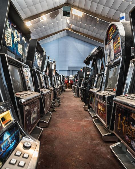 I Found An Abandoned Warehouse Filled With Arcade Machines