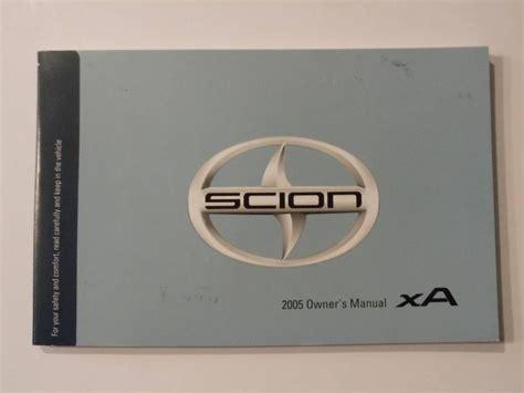 hayes car manuals 2005 scion xa free book repair manuals 2005 scion xa owners manual book owners manuals