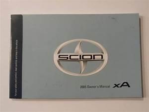 2005 Scion Xa Owners Manual Book