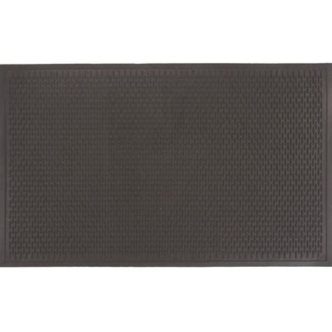 Commercial Doormats by Trafficmaster 34 In X 55 In Rubber Commercial Door Mat