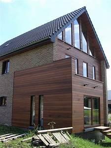 Bardage Façade Maison : bardage bois recherche google facade pinterest bardage bois bardage et bois ~ Nature-et-papiers.com Idées de Décoration