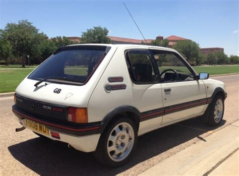 peugeot cars for sale in usa bat exclusive 1986 peugeot 205 gti in the usa bring a