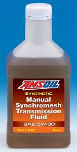 Amsoil Manual Synchromesh Transmission Fluid 5w