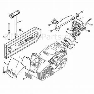 Stihl Ms 191 Chainsaw  Ms191t  Parts Diagram  Air Filter