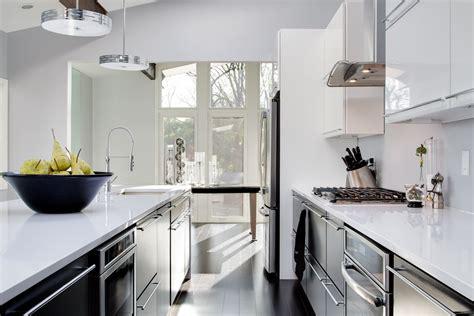 Kitchen Astounding Black And White Kitchen Danish Eat In
