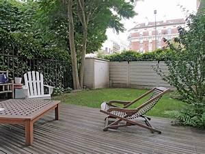 : Appartement avec jardin Agence EA Paris