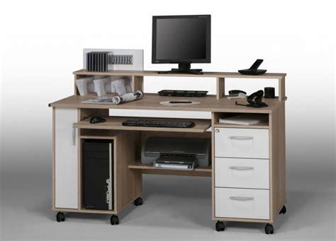 bureau informatique angle bureau pour ordinateur portable et imprimante bureaux