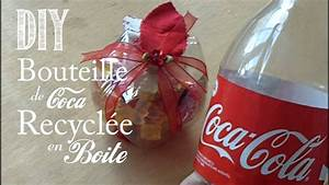 Deco De Noel Avec Bouteille En Plastique : diy comment recyclee une bouteille de coca en boite youtube ~ Dallasstarsshop.com Idées de Décoration