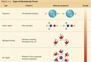 How Many Types Of Intermolecular Forces Are There