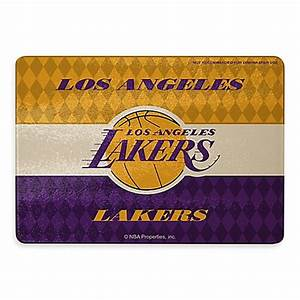 NBA Los Angeles Lakers Tempered Glass Cutting Board Bed