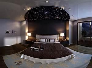 Sternenhimmel Fürs Schlafzimmer : sternenhimmel mit led glasfasern gestalten f r bezaubernde ~ Michelbontemps.com Haus und Dekorationen