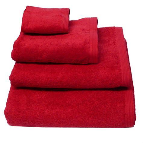 Frottee Handtuch Duschtuch Gästetuch Rot Inspirationen