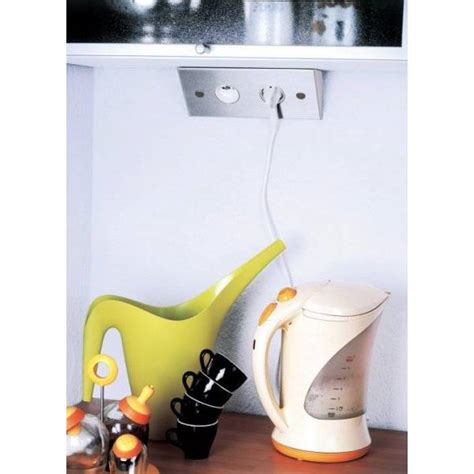 multiprise cuisine angle multiprise d 39 angle pour cuisine avec interrupteur et