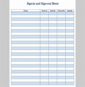 best photos of sign in sign out template book sign out With sign in and out log template
