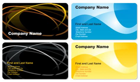 business cards vector ai eps cdr  graphics