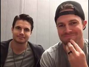 Stephen & Robbie Amell on FBLive (2015.11.22) - YouTube