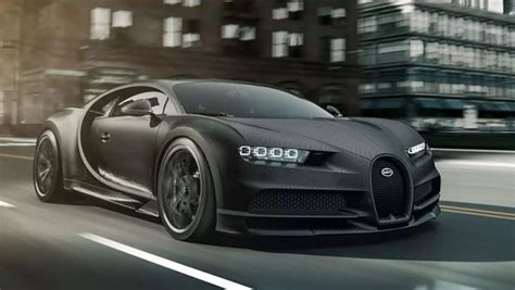 If you decide to lease one then the monthly lease payments are $24,000. Bugatti Chiron Noire: The 'affordable' version of a $12.5 million supercar