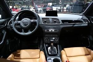 Audi Q3 Restylé : audi q3 restyl le discret du salon de gen ve photo 2 l 39 argus ~ Medecine-chirurgie-esthetiques.com Avis de Voitures