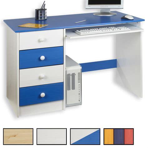 bureaux enfants bureau enfant malte 4 tiroirs 4 coloris disponibles