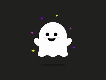 October Ghost Animation Dribbble Cartoon Effects Halloween
