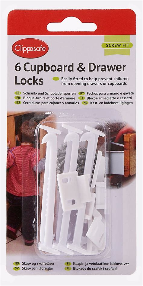 Clippasafe Cupboard Locks by Show Products