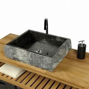 Waschtisch Holz Aufsatzwaschbecken : waschtisch mit unterschrank stehend holz ~ Michelbontemps.com Haus und Dekorationen