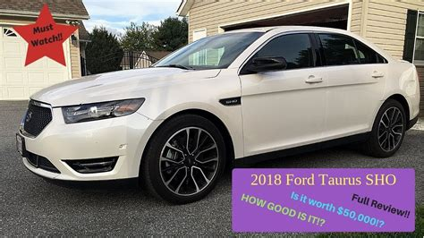 ford taurus sho full review youtube