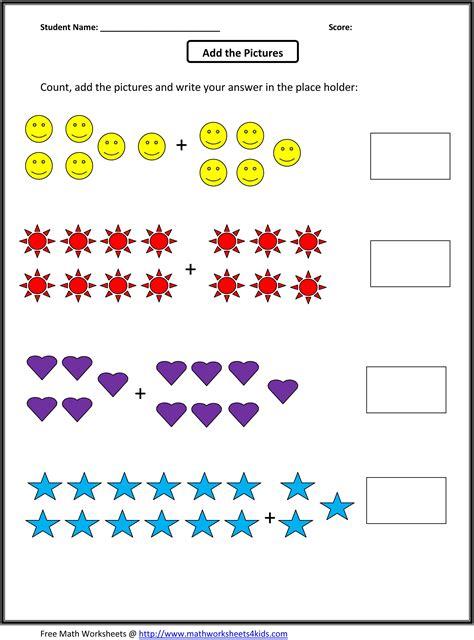 grade  addition math worksheets  grade math