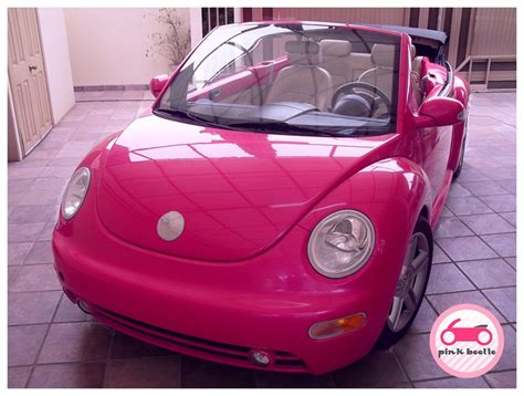 pink convertible cars my pink car new beetle convertible cars i would