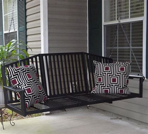 metal porch swing options  outdoor living