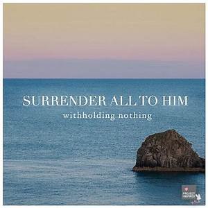 Wooden Bar Stoo... Daily Surrender Quotes
