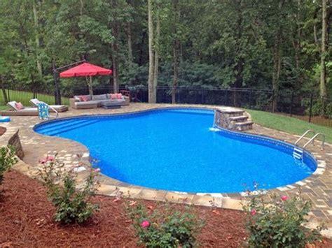20' X 40' X 31' Lagoon Inground Swimming Pool Kit With 42