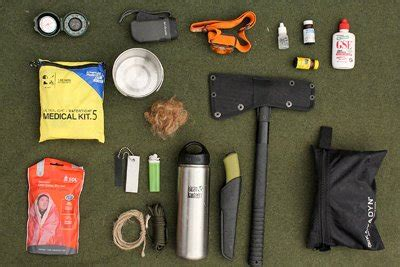 survival gear list  survival essentials