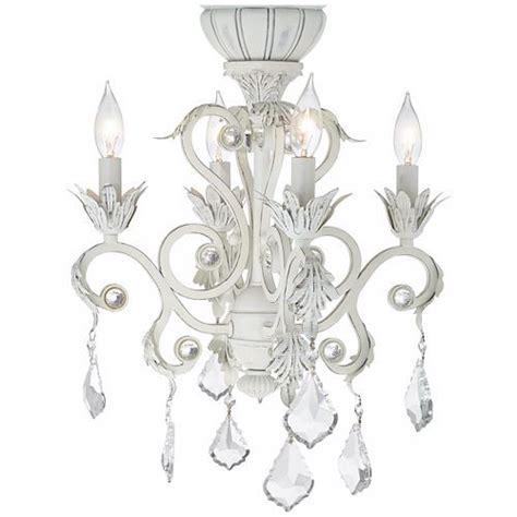 ceiling fan chandelier kit 4 light rubbed white chandelier ceiling fan light kit