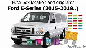 Fuse Box Location And Diagrams  Ford E-series  2015-2018